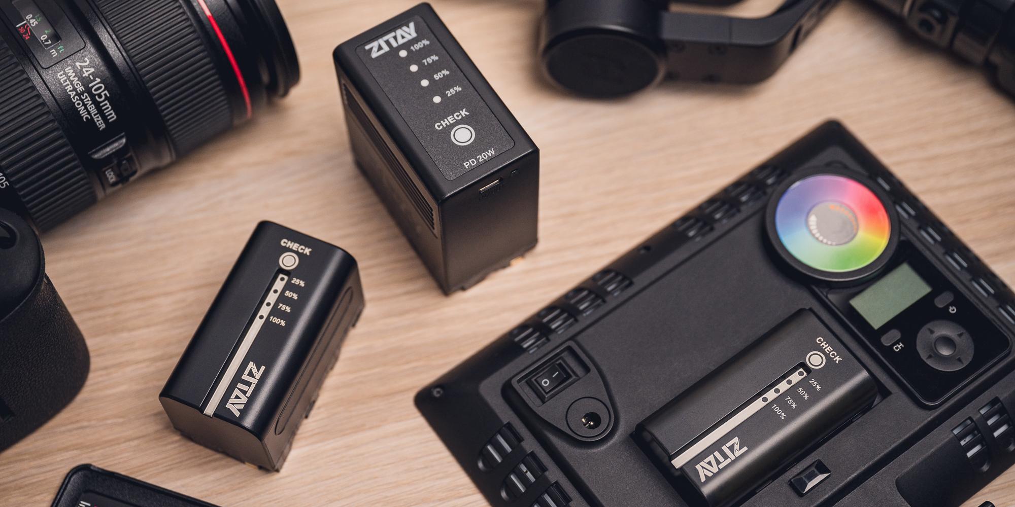 Akumulator Zitay zamiennik NP-F550 - Nowoczesny wygląd