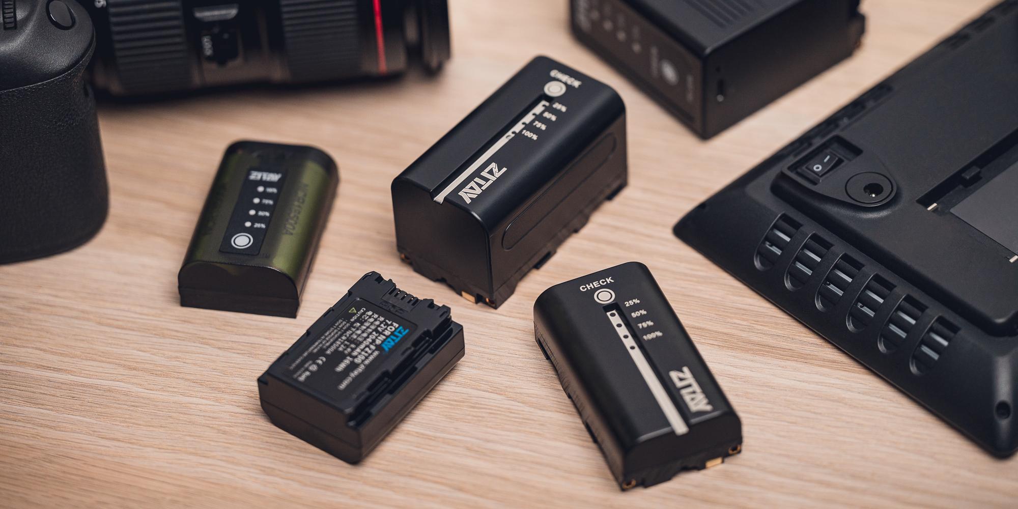 Akumulator Zitay zamiennik NP-F750 - Wskaźnik poziomu naładowania