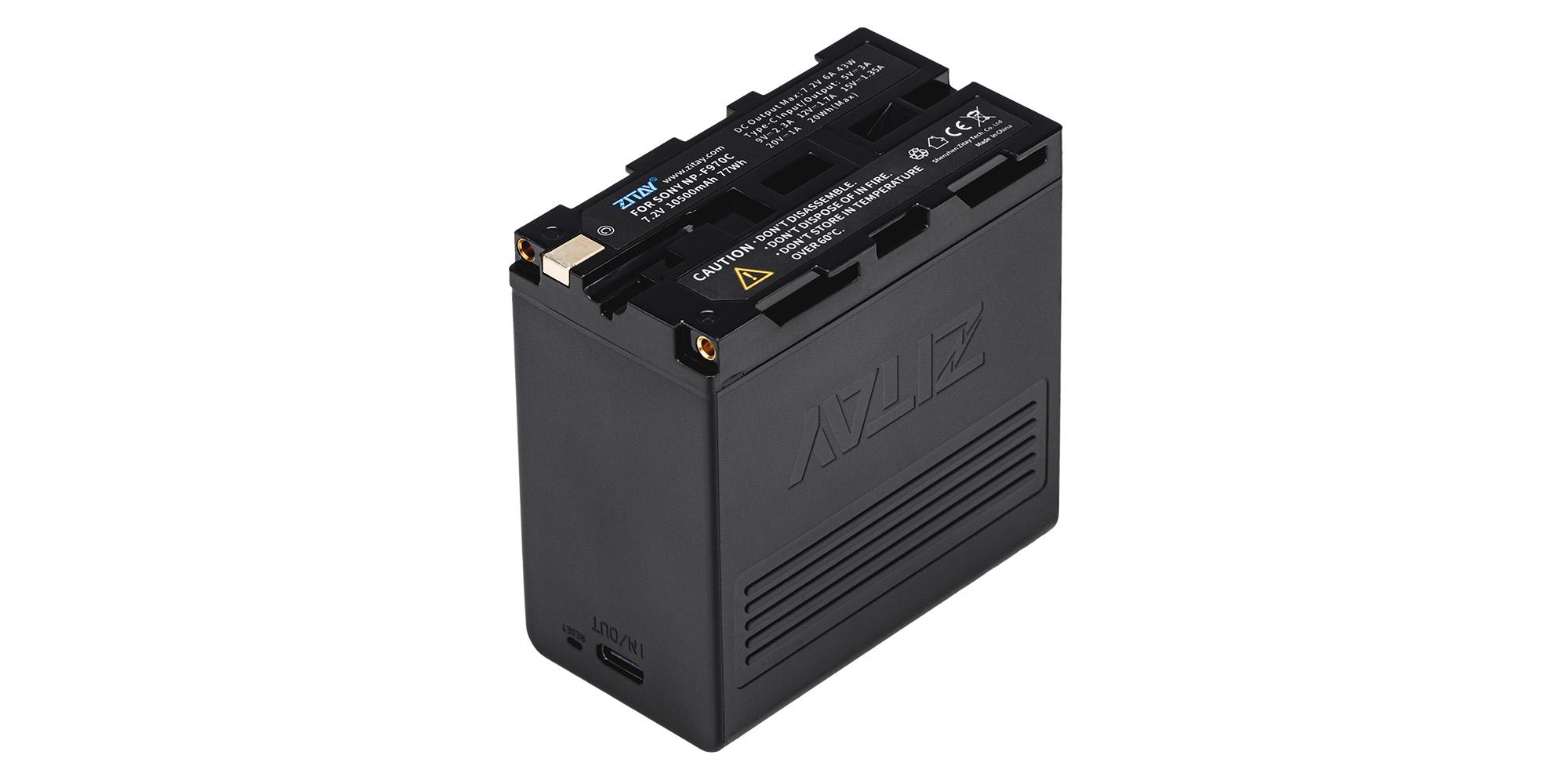 Akumulator Zitay zamiennik NP-F970 - Duża pojemność