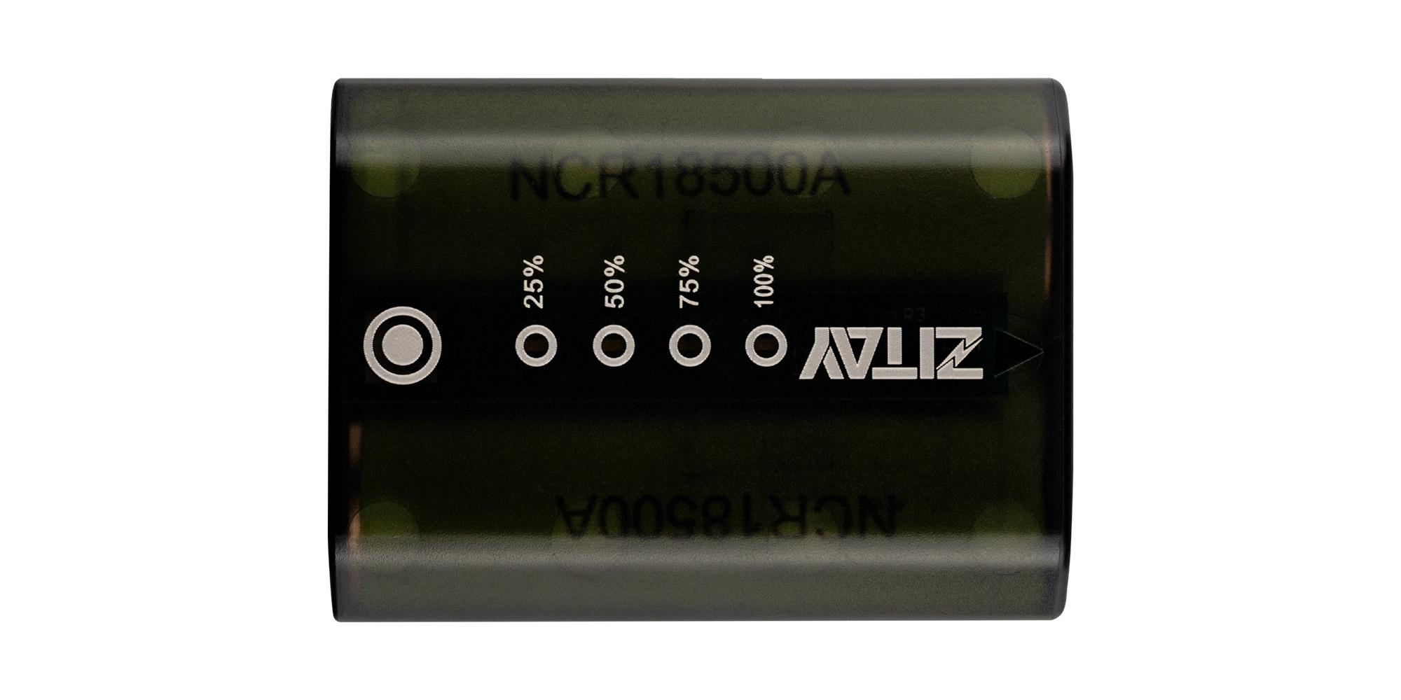 Akumulator Zitay zamiennik NP-FZ100 - Wskaźnik poziomu naładowania
